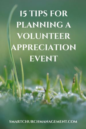 Whether planning a training event, an appreciation dinner, new volunteer orientation or a volunteer recruitment fair –the planning model should be the same.