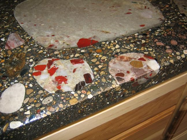 Pudding Stones Kitchen Counter Top So Want This It S A