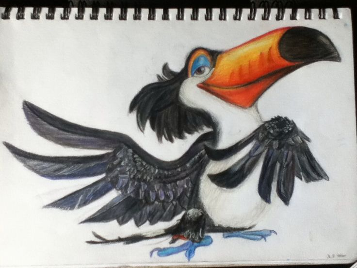 Rafael from Rio using Faber castell classic colours