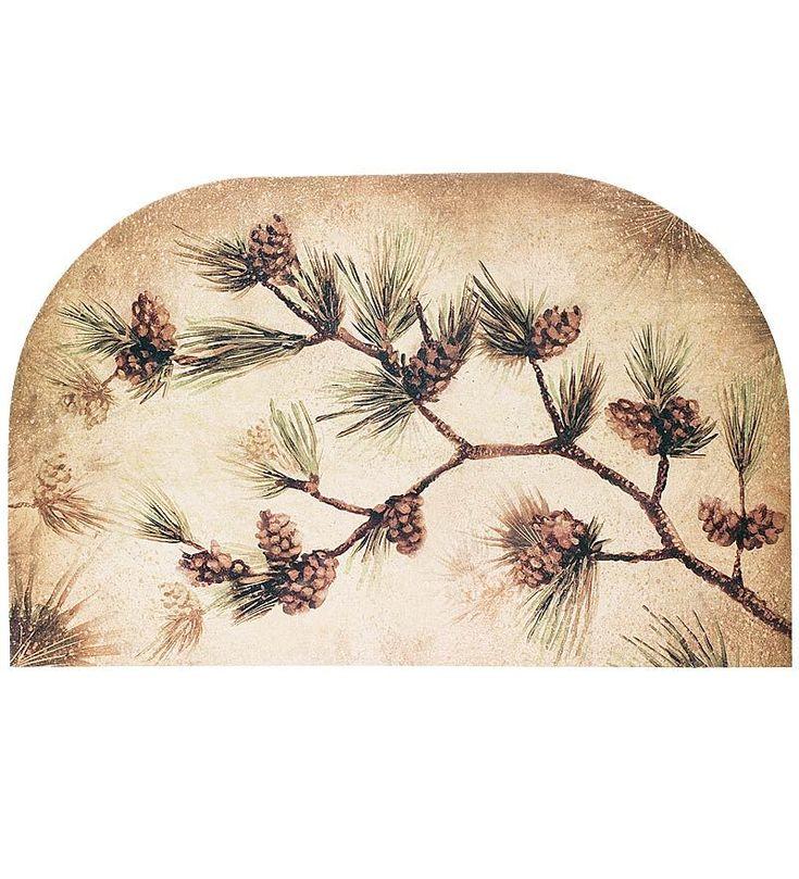 Pine Cone Hearth Rug | Housewarming Gifts