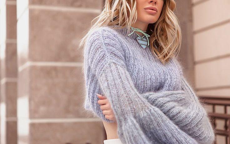 свитер из мохера купить