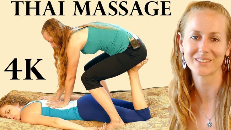Thai Massage Techniques for Your Back and Legs