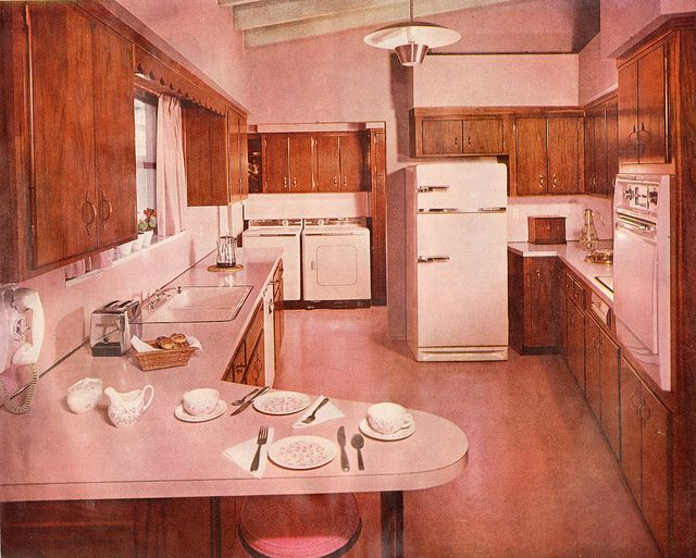 The 70 000 Dream Kitchen Makeover: 226 Best Images About 1950s Interiors On Pinterest