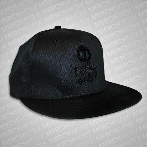 Skully Snapback Hat