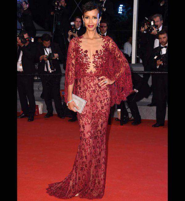 Cannes 2014 : la robe longue de Sonia Rolland