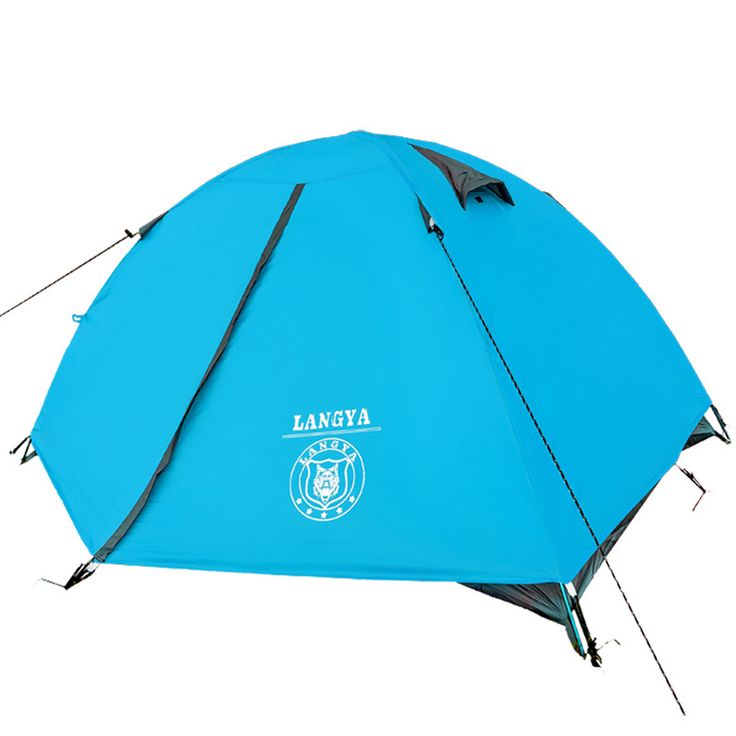Ultra-light 1.8KG double layer bivvy tent 2 people camping tent for hiking trekking backpacking fishing tourist naturehike