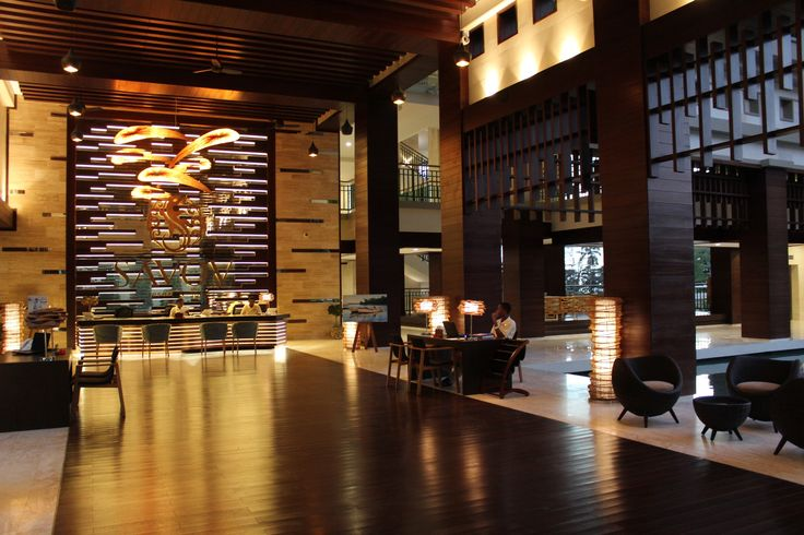 Reception in Hotel Savoy Resort & Spa 5* Mahe, Seychelles. Pendant lamp. Aqua Creations Lighting & Furniture Atelier. KORAKOT AROMDEE DESIGN - Table lamp made of Seesuk bamboo. KENNETH COBONPUE - LA LUNA - Easy Armchair - Shell of rattan core and jute, chair, Occasional table & Ottoman. #AquaCreationsLighting #KORAKOTAROMDEE #KENNETHCOBONPUE #Realized #Design #Project #Interior #Reception #Exotic #Furniture #Lighting #Architect and #Designer #Pavlovskaya #Vashurkindesign.com