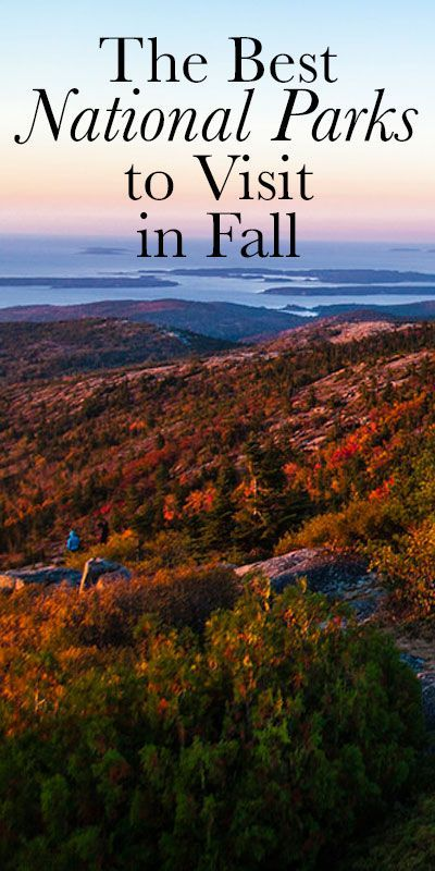best us places to visit in the fall