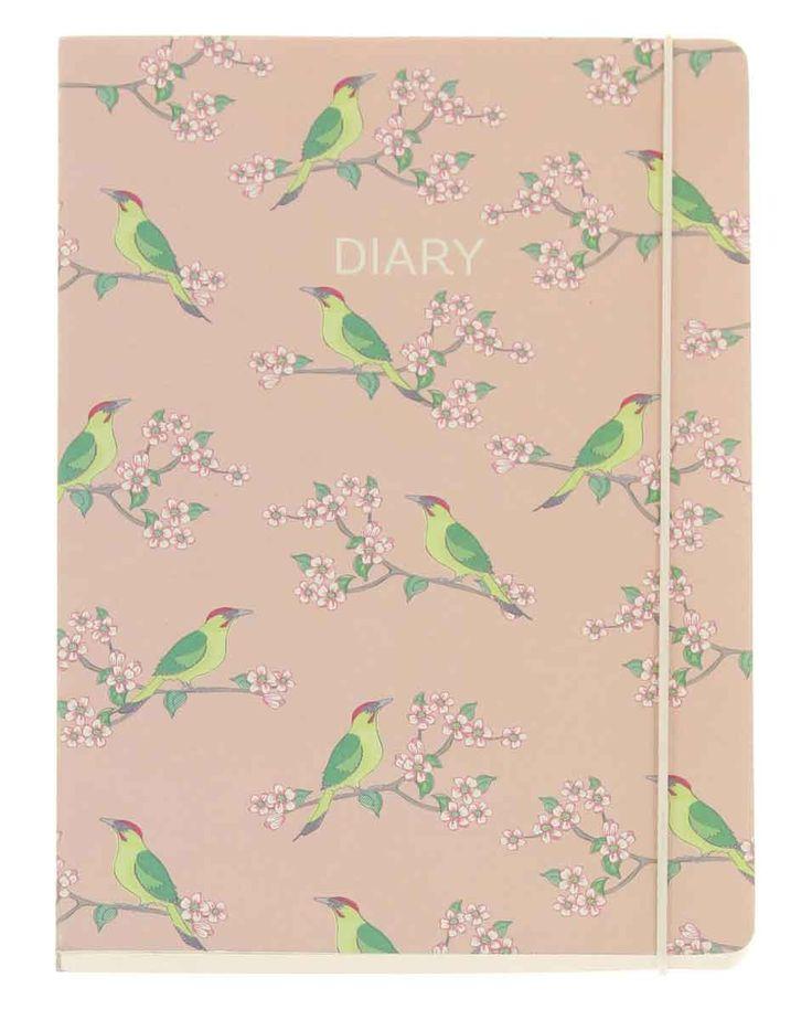 Woodland Trust Woodpecker A5 Diary 2017