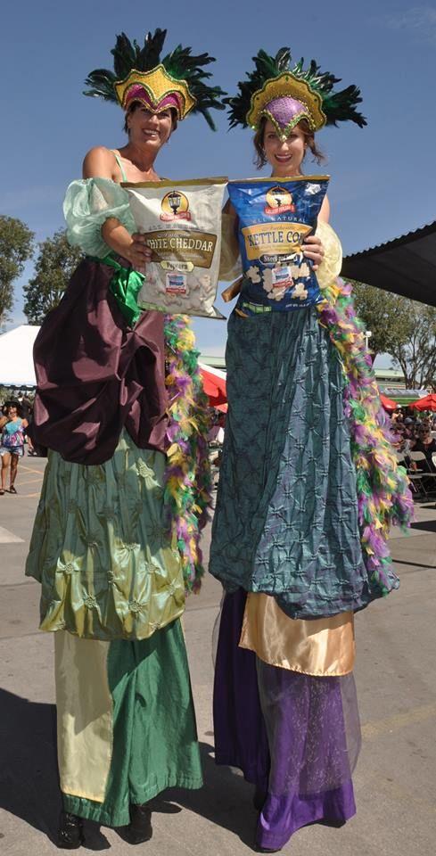 Taking Gaslamp Popcorn to new heights at the Samuel Adams Octoberfest 2015 in Costa Mesa, California