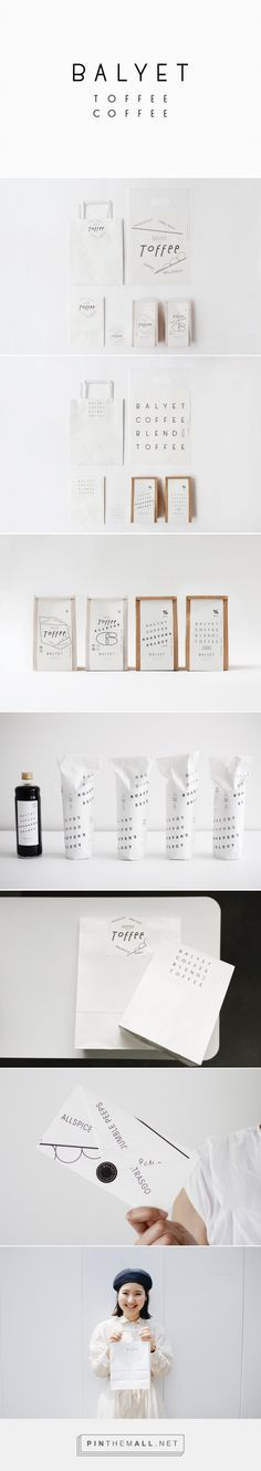 BALYET – 大阪のブランディングデザイン事務所 8otto packaging branding curated by Packaging Diva PD. TOFFEE and COFFEE specialty shop located in 'LUCUA1100′, a shopping mall beside Osaka station.