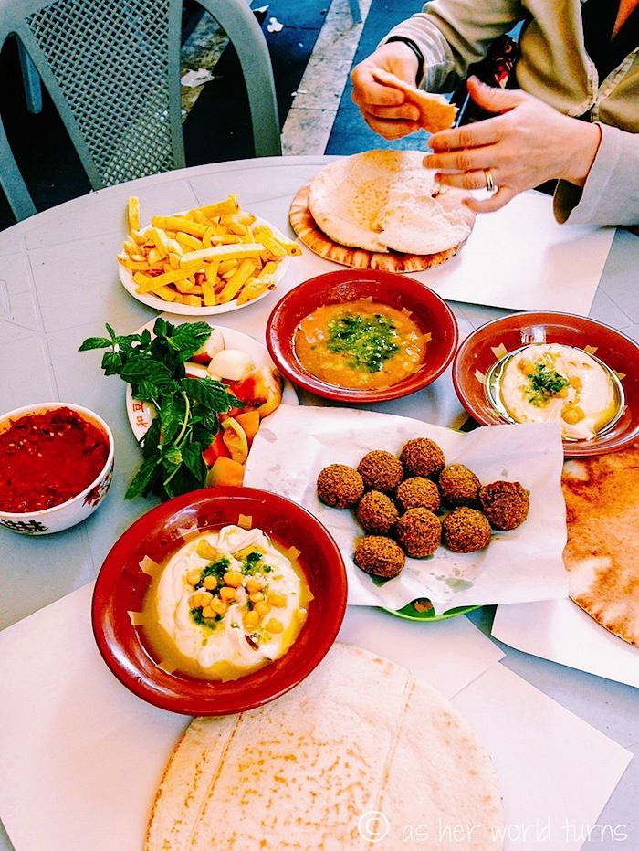My Best Meals in Jordan: Hashem restaurant in Amman -- READ MORE: http://www.asherworldturns.com/my-best-meals-in-jordan/