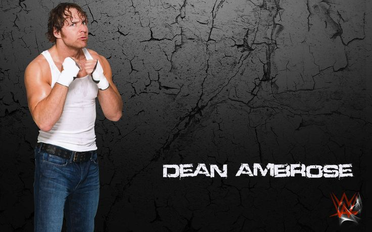 Top 15 Dean Ambrose Wallpapers And Pictures http://www.wallpaperidol.com/top-15-dean-ambrose-wallpapers-pictures/