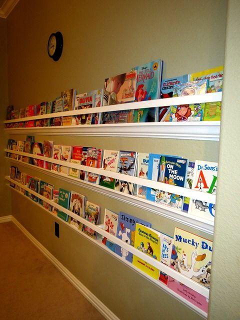 Raingutter Bookshelf With Crown Molding3