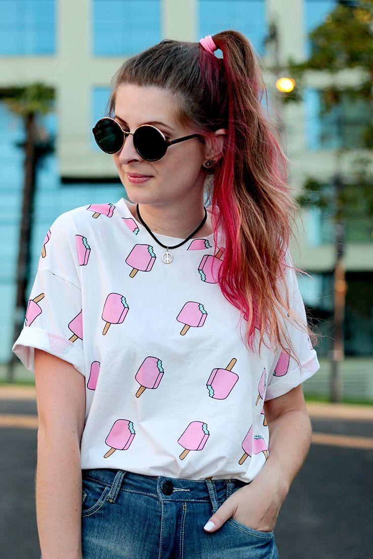 Meninices da Vida: Look de Verão: Short, t-shirt e chinelo.