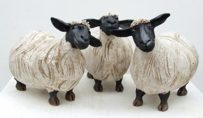 sheep ceramic