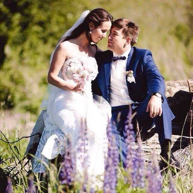 букет невесты , бутоньерка