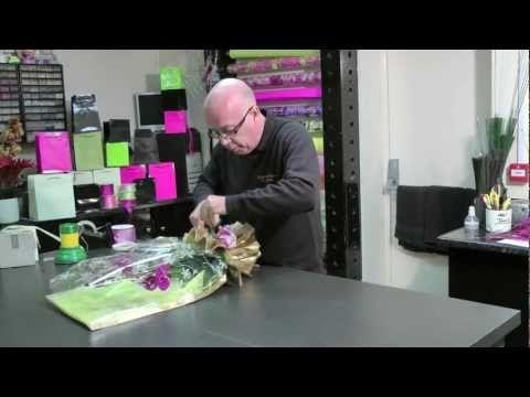 28. Phalaenopsis Orchid Gift Wrap - YouTube