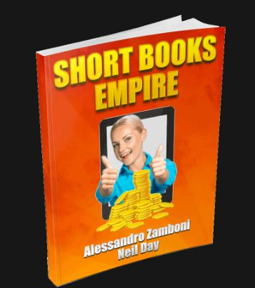 Short Books Empire – Reveal The Secrets To Writing The Perfect Non-Fiction Short Book In 8 Surefire Niches. The advantages to writing a Kindle short book. The characteristics of a short non-fiction book. The recommended number of words for a good short book. The 8 book niches that sell like crazy. The way to build each one of these books in 3 days. The ebook creation process from A to Z.