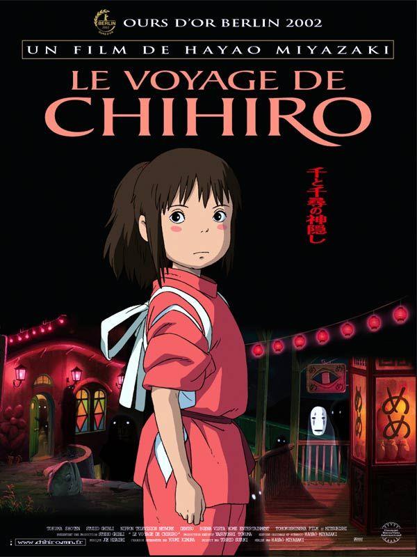 ¤ Le voyage de chihiro - Chihiro, dix ans, a tout d'une petite fille capricieuse. Elle s'apprête à emménager avec ses parents dans une nouvelle demeure. Sur la route, la petite famille se retrouve face à un immense bâtiment rouge au centre duquel s'ouvre un long tunnel. De l'autre côté du passage se dresse une ville fantôme. Les parents découvrent dans un restaurant désert de nombreux mets succulents et ne tardent pas à se jeter dessus. Ils se retrouvent alors transformés en cochons.