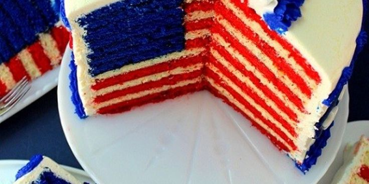 The Flag Cake To End All Flag Cakes