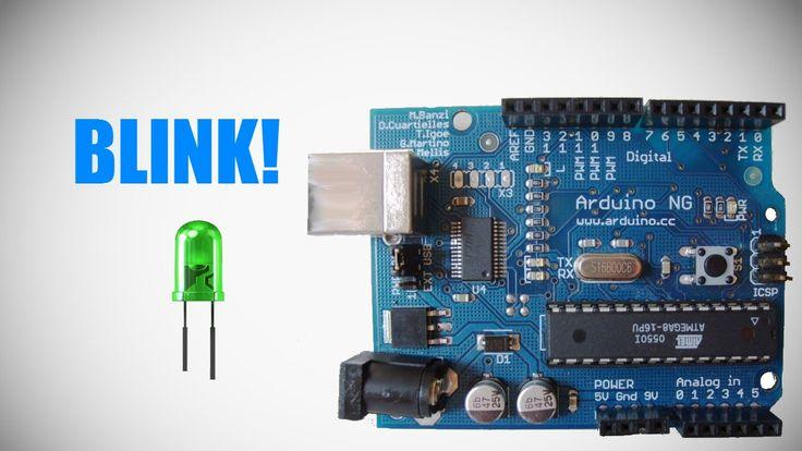 Programming Arduino -  Lesson 1 - Blink LED