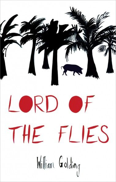 Lord of the Flies book cover- Hayley Potter