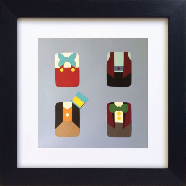 Handmade Minimalist Pinnochio Poster - Framed