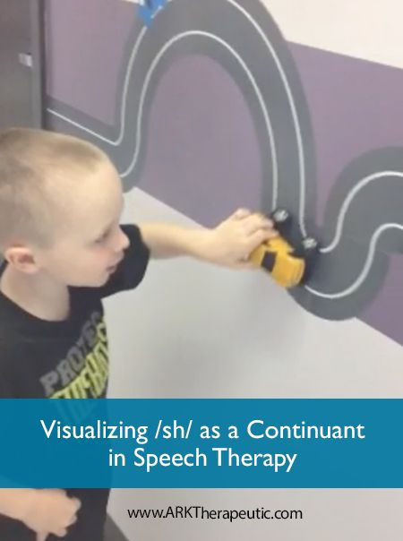Visualizing /sh/ as a Continuant - Easy Speech Therapy Trick!