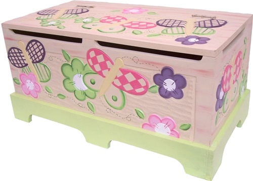 Image detail for -Hand Painted Toy Boxes