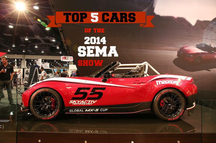Top 5 Cars of the 2014 SEMA Show