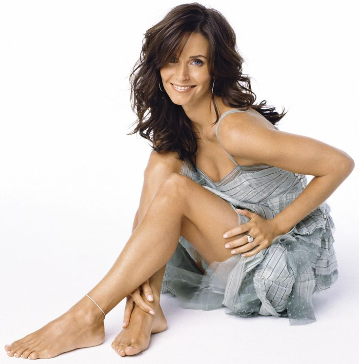 Courteney cox 39 s feet for Cox at home