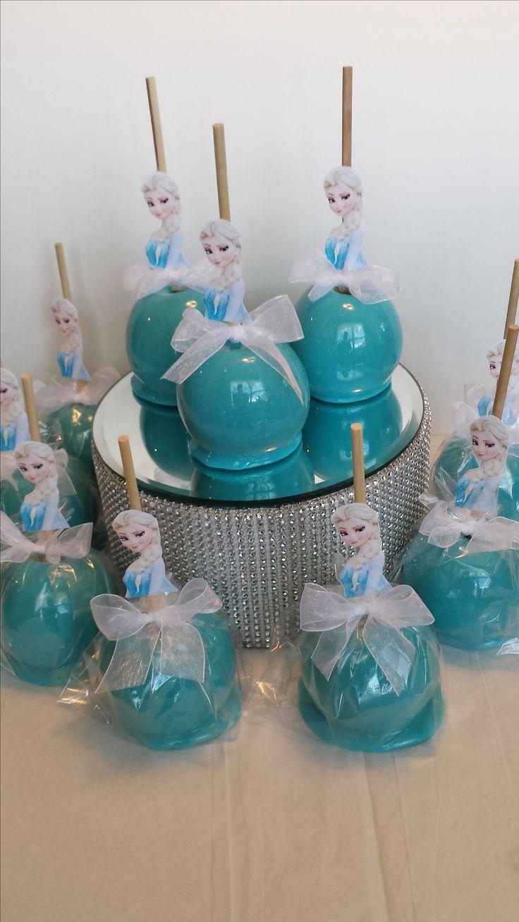 Original idea para comida|aperitivo de una celebración de cumpleaños Frozen. Tus invitados se quedarán de hielo