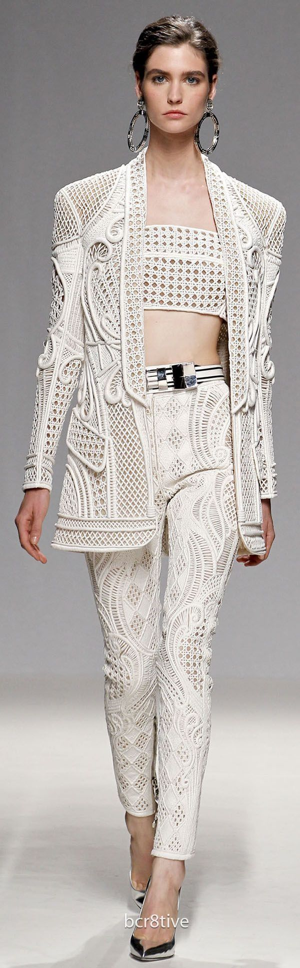Balmain Spring Summer 2013 Ready to Wear VIA BCRETIVE