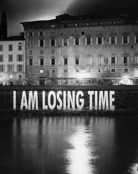 Una constante en mi vida.Perder el tiempo.Cuanto más mejor.
