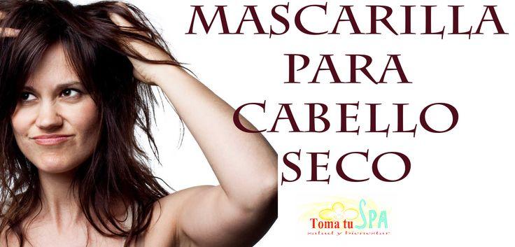 ❋ Mascarilla para el cabello seco ❋ #Mascarilla #CabelloSeco #Belleza #Cuidados #TomaTuSpa Estos tres ingredientes son ideales para humectar el cabello en profundidad.