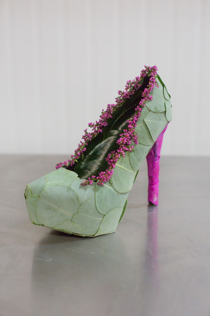 Blog of Mayesh Wholesale Florist - Francoise Weeks Workshop: Floral Shoes / Photography: Wheeland Photography / Design: Adriana Gutierrez