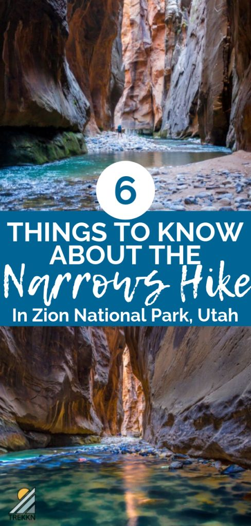The Narrows Hike In Zion National Park: 6 Things You Should Know