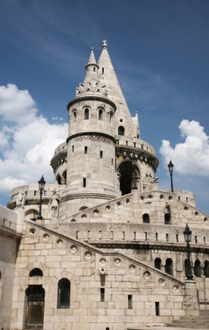 Hungary Castles in Photos - Photos and Information about Hungary's Castles: Hungary Castles - Fisherman's Bastion