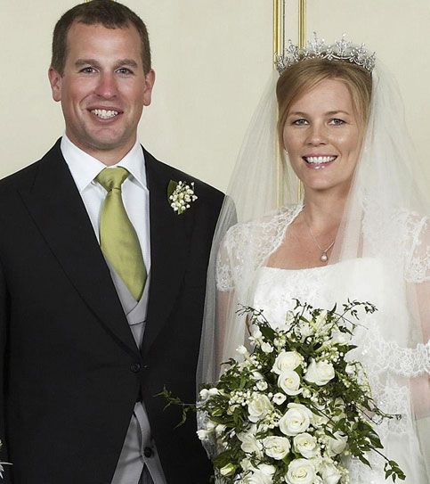 Peter Phillips to Autumn Kelly on 17th of May 2008  Princess Anne's son.