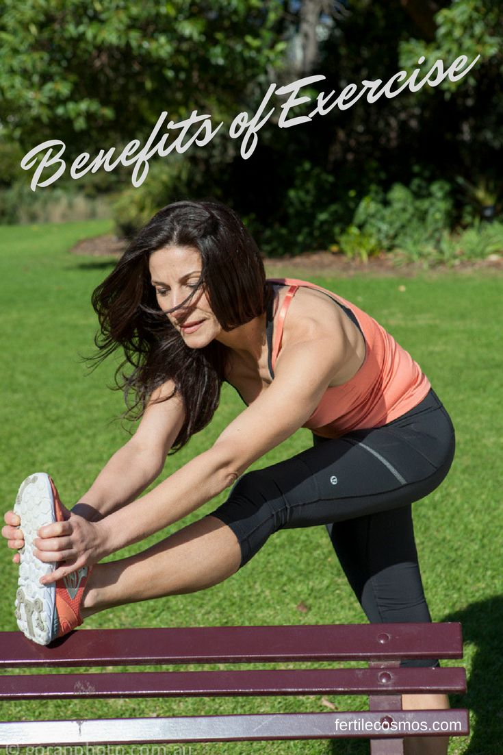 Exercise increases the blood flow in the body, brings fresh blood to all of the cells and helps to oxygenate the blood.