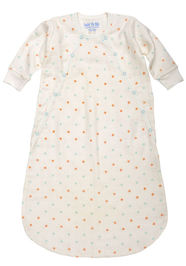 Organically Baby - Whisper Weight Muslin Bunting with Sky Blue and Coral Stars from Under The Nile, $26.00 (http://www.organicallybaby.com/whisper-weight-muslin-bunting-with-sky-blue-and-coral-stars-from-under-the-nile/)