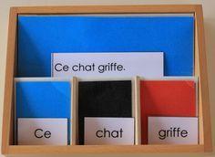 La grammaire ça s'apprend tout petit : le déterminant, l'adverbe, la préposition… | Lycée International Montessori - Ecole Athéna - Le blog de Sylvie d'E.