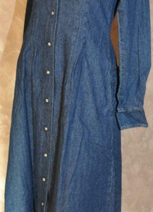 À vendre sur #vintedfrance ! http://www.vinted.fr/mode-femmes/autres-robes/28742627-robe-longue-en-jean-marque-naf-naf-t-38