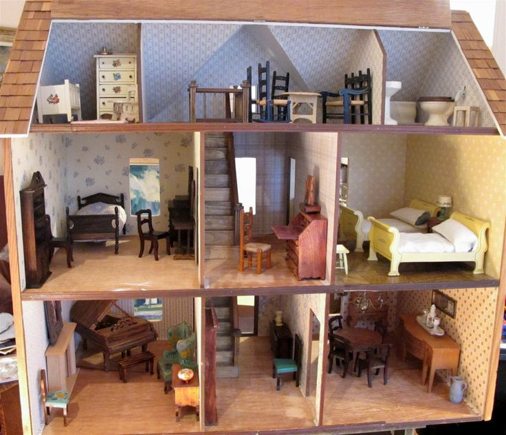 29 best images about vintage dolls and dollhouses on for Young house love dollhouse