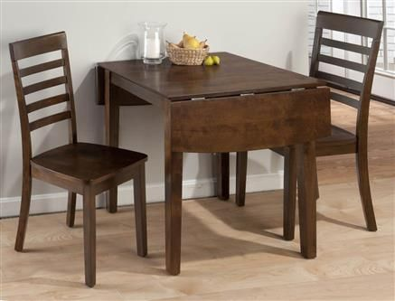 Jofran Kitchen Double Drop Leaf Table   Discovery Furniture   Topeka And  Lawrence Kansas