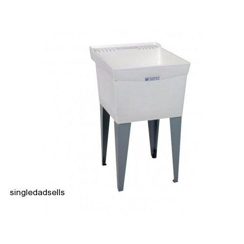 Utility Wash Tub : Laundry Utility Sink Wash Tub Mud Room Basin Garage Shop Household ...