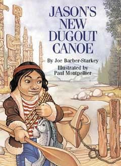 This delightful story of a Nuu-chah-nulth boy explores First Nations traditions and values through the making of a canoe. Jason's first canoe is crushed during a storm, and he must replace it. Through Uncle Silas, he learns the traditional methods of canoe building - plus scores of stories and legends about his heritage. In an entertaining way, Jason's New Dugout Canoe also teaches the important lesson of patience, plus respect and reverence for nature and all its creatures.