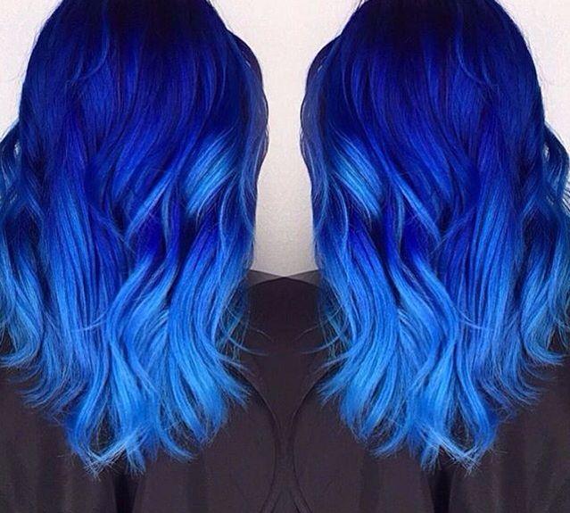 Best 25+ Blue hair colors ideas on Pinterest   Blue hair ...