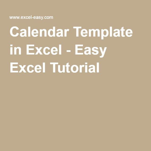 The  Best Calendar  Template Ideas On